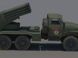 Ural BM21 Grad
