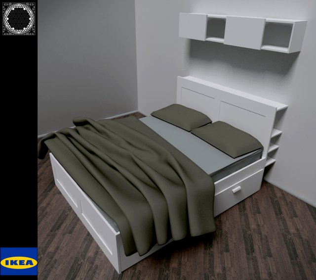 Ikea Brimnes Bed Model