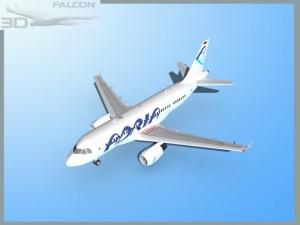 Falcon3D A319 Adria