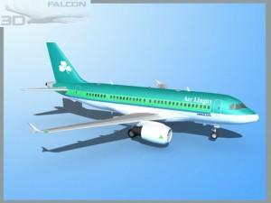 Falcon3D A319 Aer Lingus