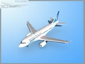 Falcon3D A319 Air New Zealand