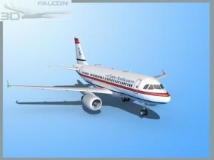 Falcon3D A319 Charter Southeastern