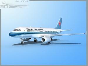 Falcon3D A319 China Southern