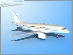 Falcon3D A319 Corporate