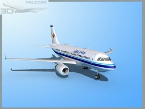 Falcon3D  A319 Eurocypria Airlines