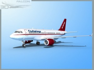 Falcon3D  A319 Fastwings