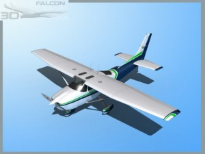 Falcon 3D C182 Skylane F06