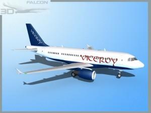 Falcon3D  A319 Viceroy
