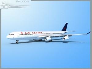Falcon3D A340 600 Air Canada
