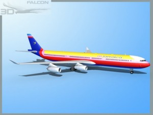 Falcon3D A340 600 Air Jamaica