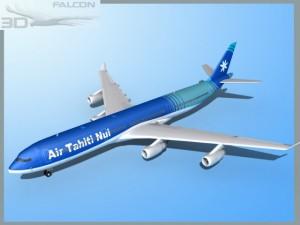 Falcon3D A340 600 Air Tahiti Nui