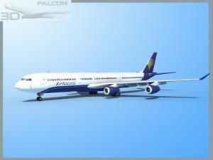 Falcon3D A340 600 Air Tours