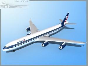 Falcon3D A340 600  Air Transat