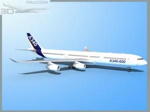 Falcon3D A340 600 Airbus