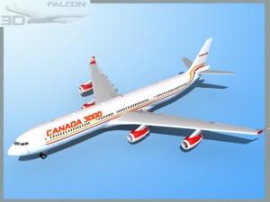 Falcon3D A340 600 Canada 3000