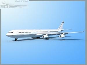 Falcon3D A340 600 Corporate 1