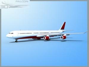 Falcon3D A340 600 Corporate 2