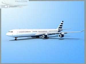 Falcon3D A340 600 Corporate 4