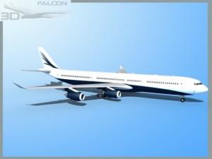 Falcon3D A340 600 Corporate 5