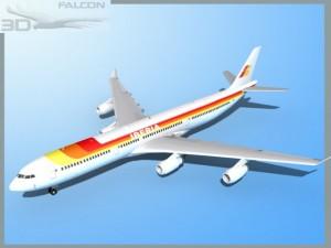 Falcon3D A340 600 Iberia