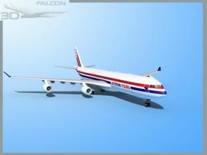 Falcon3D A340 600 JetStar Tours