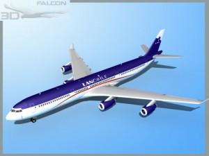 Falcon3D A340 600 Lan Chile