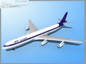 Falcon3D A340 600 Olympic