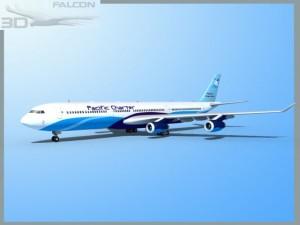 Falcon3D A340 600 Pacific Charters