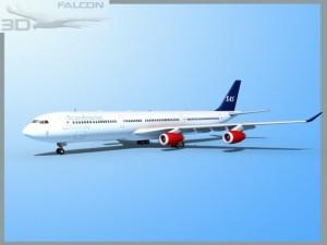 Falcon3D A340 600 SAS