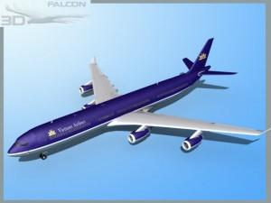 Falcon3D A340 600 Vietnam Airlines