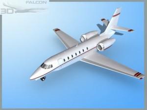 Falcon3D Citation Sovereign C680 F05