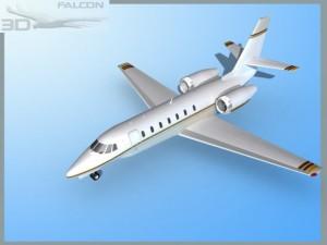 Falcon3D Citation Sovereign C680 F06