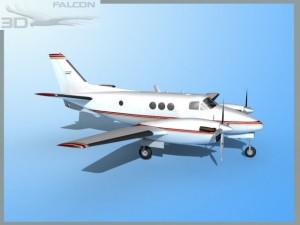 Falcon3D E90 King Air F06