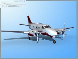 Falcon3D E90 King Air F07