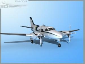 Falcon3D E90 King Air F11
