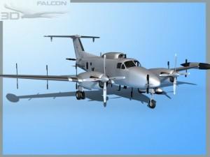 Falcon 3d RC12P Guardrail US Army