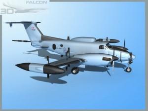Falcon 3d RC12P Guardrail F01 US Army