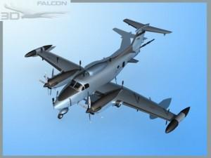 Falcon 3d RC12P Guardrail F02 US Army