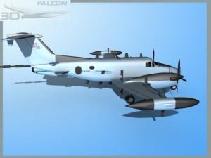 Falcon 3d RC12P Guardrail F03 US Army