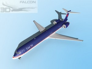 Falcon3D MD 80 Lion Air