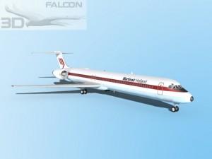 Falcon3D MD 80 Martinair