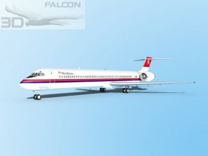 Falcon3D MD 80 Meridiana