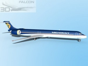 Falcon3D MD 80 Midwest