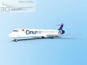 Falcon3D MD 80 Onur Air