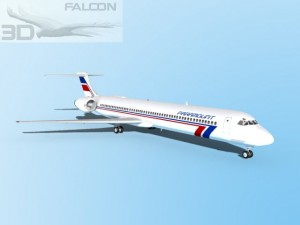 Falcon3D MD 80 Paramount Airlines