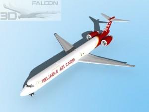 Falcon3D MD 80 Reliable Air Cargo