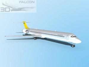 Falcon3D MD 80 SAS Snowflake