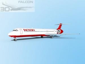 Falcon3D MD 80 Snowbird