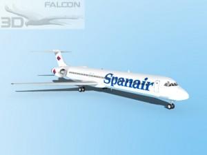 Falcon3D MD 80 Spanair