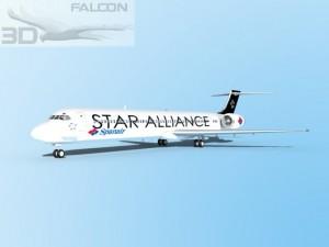 Falcon3D MD 80 Star Alliance
